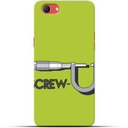Saavre Back Cover for Screwed Up for OPPO REAL ME1