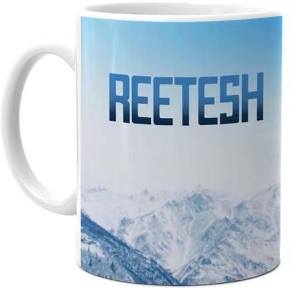 HOT MUGGS Me Skies - Reetesh Ceramic Coffee Mug