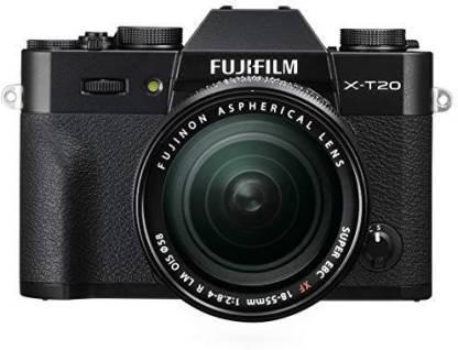 Fujifilm X-T20 with XF 18-55 mm F2.8-4.0 R LM OIS Lens Mirrorless Camera Kit