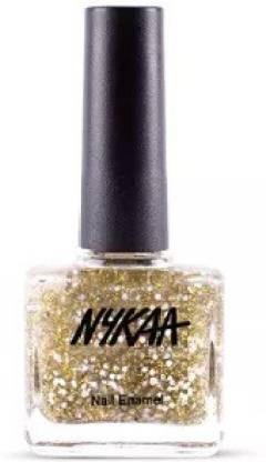 NYKAA Star Nail Enamel - 226 Golden Ticket 226