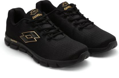Lotto VERTIGO BLK RUNNING SHOES For MEN 10 Running Shoes For Men