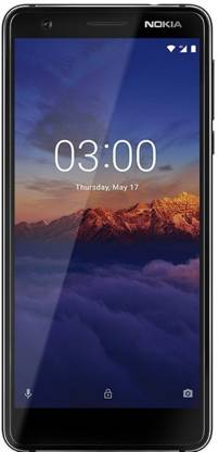 Nokia 3.1 (Black, 16 GB)