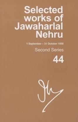 Selected Works of Jawaharlal Nehru (1 September-31 october 1958)