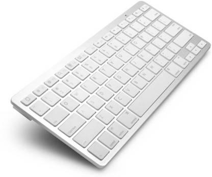 FU4 Ultraslim Wireless Tablet Keyboard (White) Wireless Tablet Keyboard