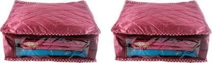 Ajabh High Qulity NEW COMBO OF 2PCS 6inch HIGHT SAREE COVER GIFT ORGANIZER TRAVLING BAG KEEP SAREE\SALWAR\JEANS\TOP ETC.