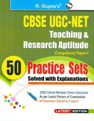 UGC-Net Junior Research Fellowship and Lectureship Exam (Paper I)
