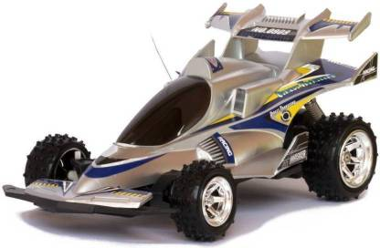 Skyler Collection Rechargeable X-Gallop Real Racing Cross Country Full Function Racing Car (Silver)