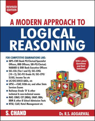 A Modern Approach to Logical Reasoning - Includes Latest Questions and their Solutions