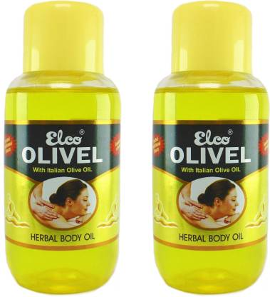 Elco Olivel Herbal Body Oil( Enriched with Italian Olive Oil & Natural Herbs)