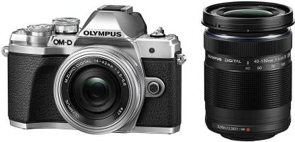 OLYMPUS OM-D E-M10 MarkIII Mirrorless Camera Double Zoom kit 14-42mm EZ & 40-150mm