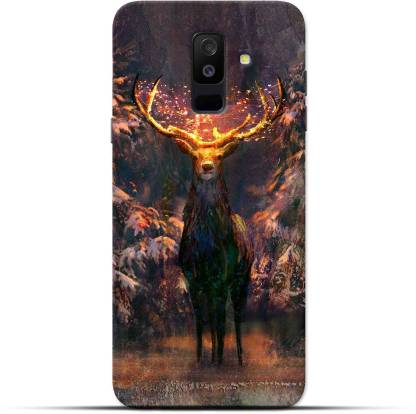 Saavre Back Cover for Christmas Reindeer for SAMSUNG A6 PLUS