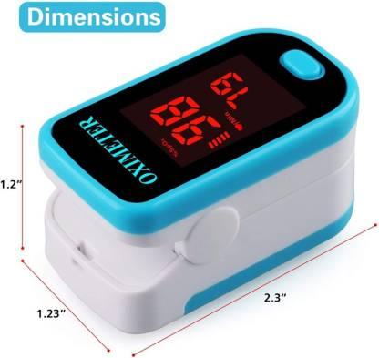 Sahyog Wellness LED Type Fingertip Pulse Oximeter Big Digit Led Display Blood Oxygen Monitor -Travel Carry Case Included Pulse Oximeter