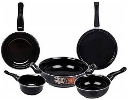 JVS plastics COOKWARE SET 5 PIECE Induction Bottom Cookware Set