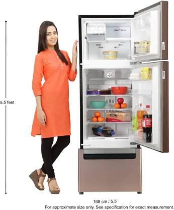 Whirlpool 240 L Frost Free Triple Door  1  Refrigerator Alpha Mocha, FP 263D PROTTON ROY ALPHA MOCHA  N