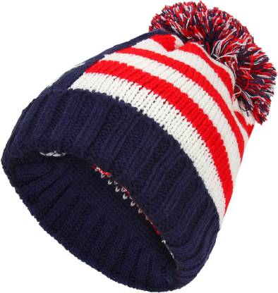 Friendskart Self Design New Men's Women's winter Fall hat fashion knitted black ski hats Thick warm hat cap Bonnet Skullies Beanie Soft Knitted Beanies Cotton01458 Cap