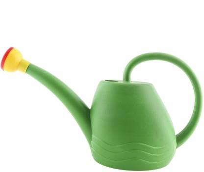 live with alive GARDEN WATERING CAN WITH SPRAYER 1.8LIT HIGH GRADE PLASTIC 1.8 L Tank Sprayer