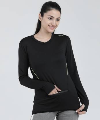 Alcis Full Sleeve Striped Women Sweatshirt