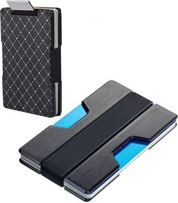 Flipkart.com | StealODeal Slim Minimalist Money Holding RFID Front Pocket Smart  Wallets for Men and Women Aluminium Alloy Credit Wallet With Aluminium  alloy 15 Card Holder - Card Holder