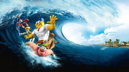 Akhuratha Poster Movie The SpongeBob Movie: Sponge Out Of Water Spongebob HD Wallpaper Background Fine Art Print