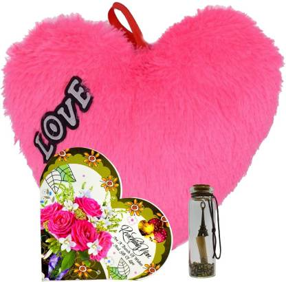 romantic gifts surprise greeting card with message bottle heart original