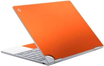GADGETS WRAP Orange Electroplating Top & Trackpad Skin Vinyl Laptop Decal 12.3