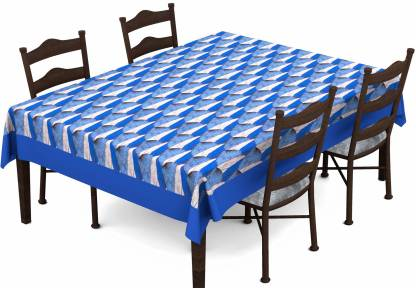 Lushomes Abstract 6 Seater Table Cover