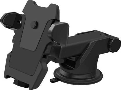 Bluedrum Car Mobile Holder For Windshield, Dashboard  (Black)