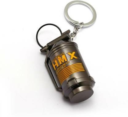 SHIBU PUBG XWH Metal Hand Grenade Key Chain Key Chain Key Chain