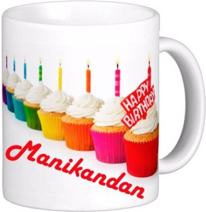 Exoctic Silver MANIKANDAN_Best Birth Day Gift For Loved One's_HBD 22 Ceramic Coffee Mug