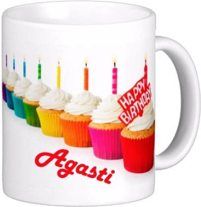 Exoctic Silver AGASTI_Best Birth Day Gift For Loved One's_HBD 22 Ceramic Coffee Mug