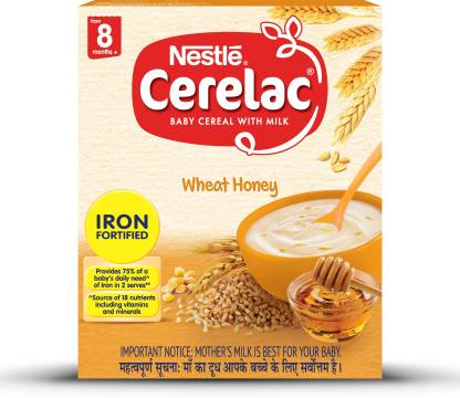 Nestle Cerelac Wheat Honey (Stage 2) Cereal