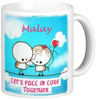 Exoctic Silver MALAY_Best Gift For Loved One's_LRQ133 Ceramic Coffee Mug