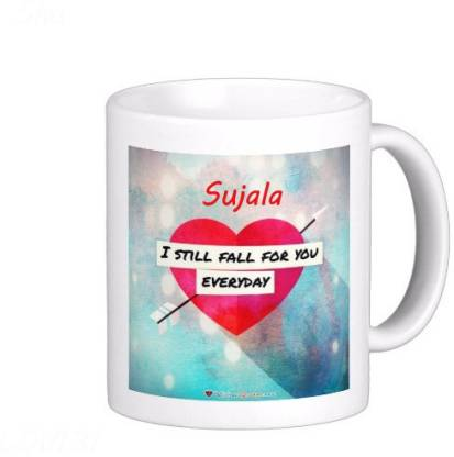 Exoctic Silver SUJALA_Best Gift For Loved One's Ceramic Coffee Mug