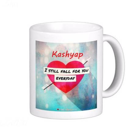 Exoctic Silver KASHYAP_Best Gift For Loved One's Ceramic Coffee Mug