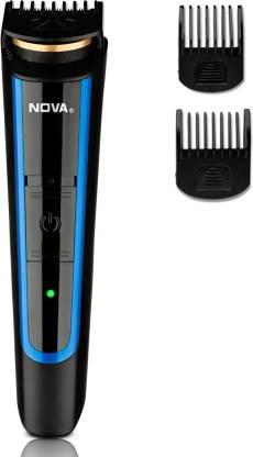 Nova NHT 1078 Titanium Coated USB Runtime: 45 Trimmer for Men