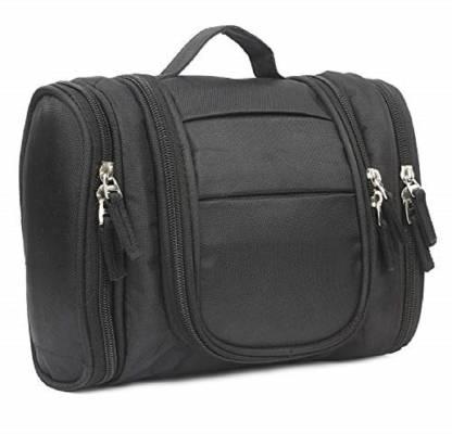 Utility World Toiletry Bag Cum Travel Organizer Black Travel Toiletry Kit
