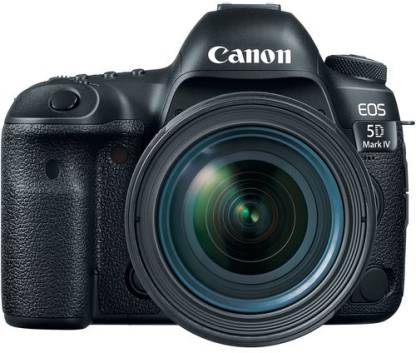Canon EOS 5D Mark IV DSLR Camera Body with EF-24-70mm f/4L IS USM
