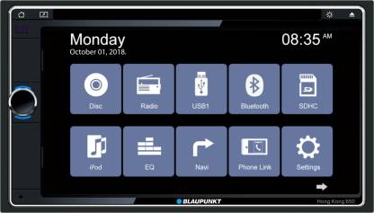Blaupunkt Multimedia Hong Kong 650 Car Stereo