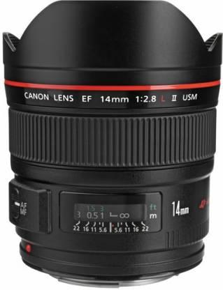 Canon EF14mm f/2.8L II USM Lens(Black, 14)