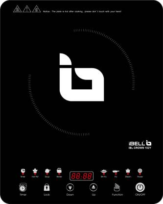 Ibell 2000W Induction Cooktop 20YO with Auto Shut Off and over Heat Protection,BIS Certified. Induction Cooktop