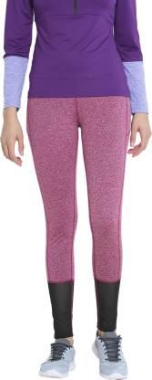 Chkokko Self Design Women Pink Tights
