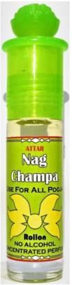 INDRA SUGANDH Attar Nag Champa ~इत्र नाग चम्पा~ Pure Attar Nag Champa~the reach divine fragnance … Herbal Attar