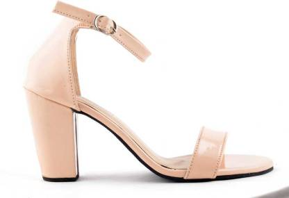 TOSHINA SHOES KING Women Beige Heels