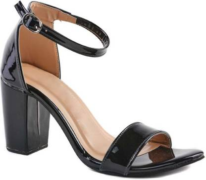 TOSHINA SHOES KING Women Black Heels