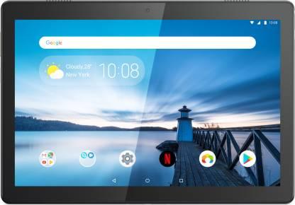 Lenovo Tab M10 (FHD) 3 GB RAM 32 GB ROM 10.1 inch with Wi-Fi+4G Tablet (Slate Black)