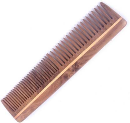 Stylazo Neem Wood Comb 100% Handmade Anti Hair-fall & Anti Dandruff Comb For Men & Women
