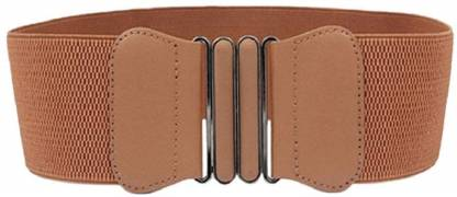 SHAFIRE Women Party Brown Canvas Belt