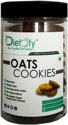 DIETOFY OATS COOKIES - CRANBERRY