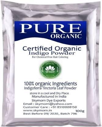 Subh Selection Natural Hair Dye Organic Indigo Leaves Powder