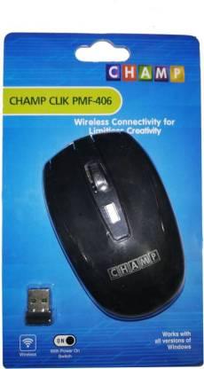 TVS Pmf406 Wireless (Single Battery) Wireless Optical Mouse